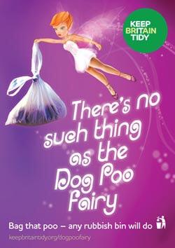 Dog Poo Fairy - Keep Britian Tidy