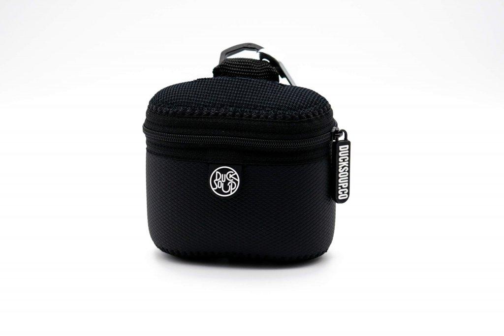Black Neo-Skin Treat Bag Front