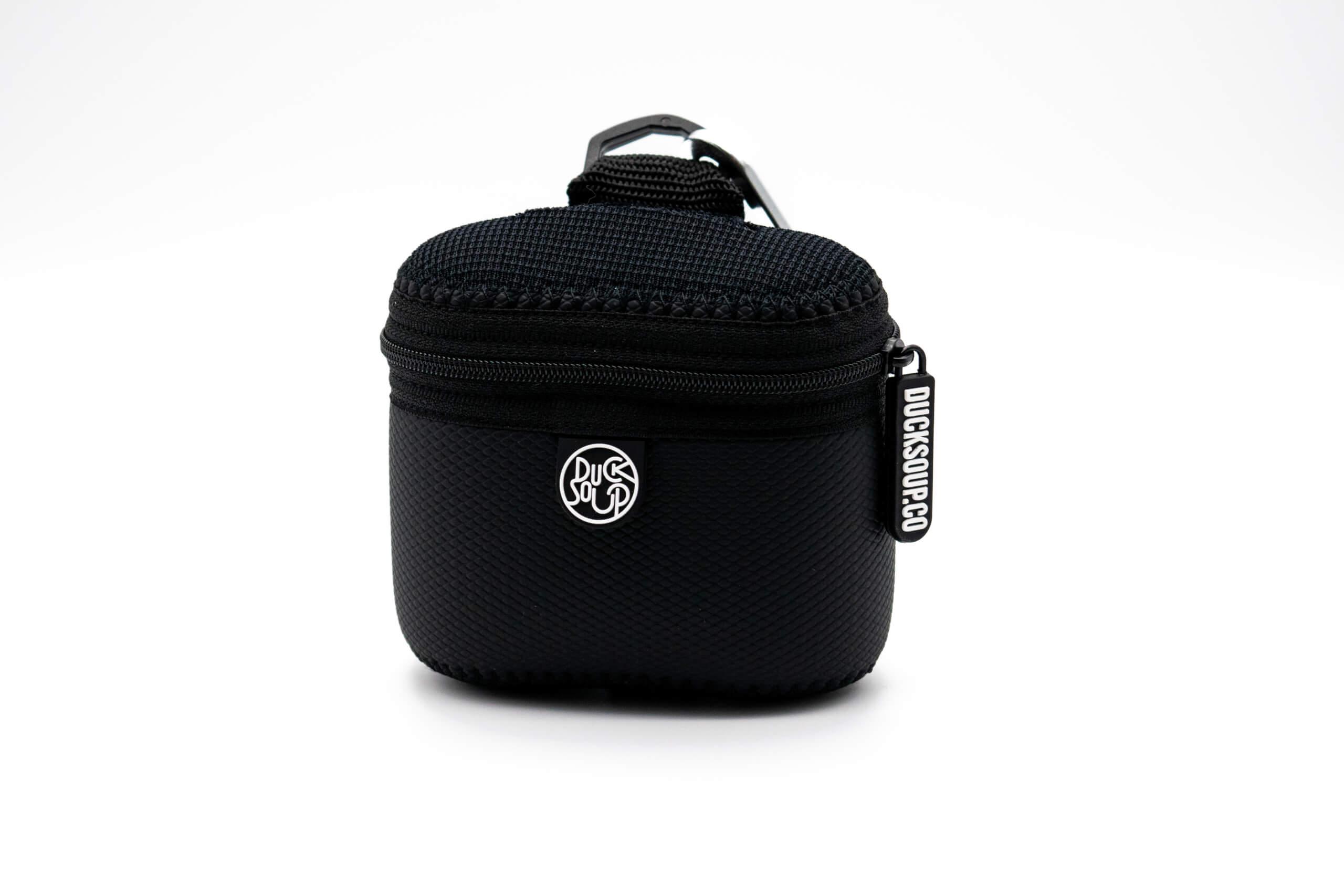 Black Neo-Skin Treat Bag Front View