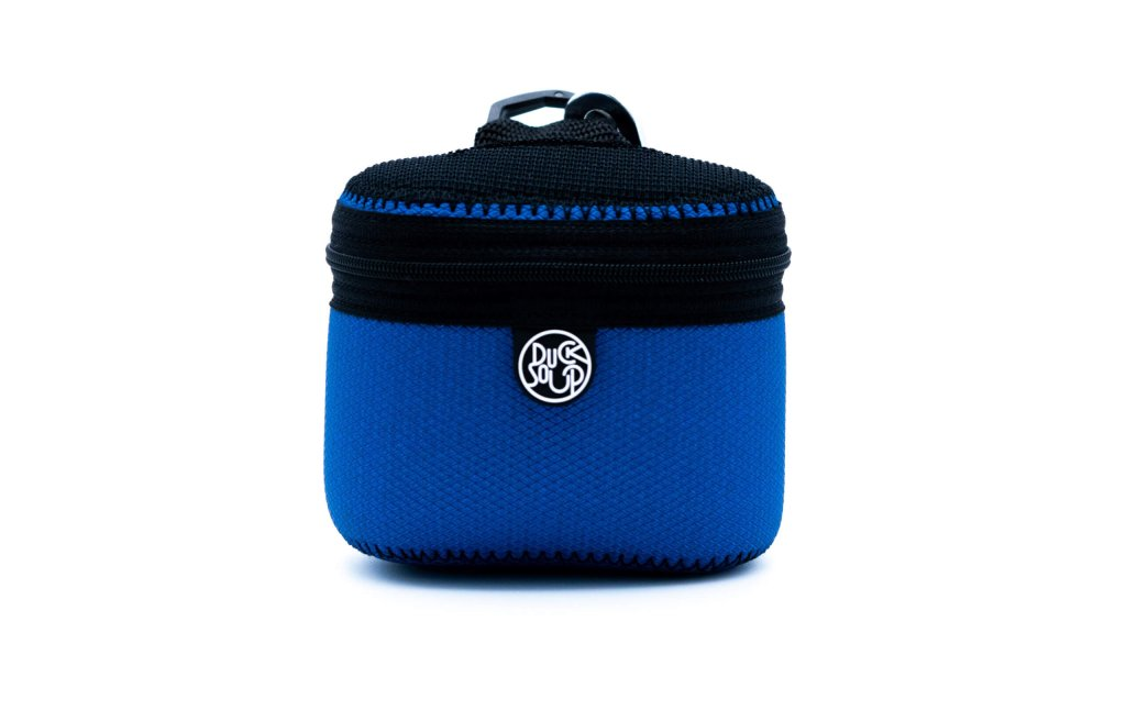 Blue Neo-Skin Treat Bag Front