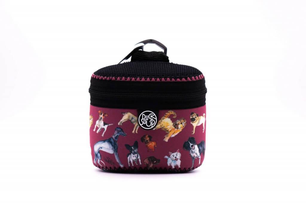 Jo Scott Red Treat Bag Front